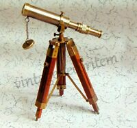 Nautical solid Brass Amnilebel Telescope Vintage Collectible unique gift