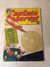 CAPTAIN MARVEL #71 FAWCETT, WHEEL OF DEATH, 1947, END OF THE WORLD, SHAZAM