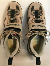 Women's Shimano Tan Cycling Shoes Size US 7.2 EU 39 SH-WM40 Casual Or Off Road