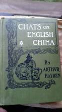 Chats on English China,author: Arthvr Hayden,1910,blue and white,porcelain