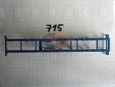 10x ALBEDO Ersatzteil Ladegut Chassis Unterteil blau 1:87 - 0715