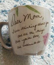 "Life's Letters ""Dear Mom .Love You ""Mug by Carson"