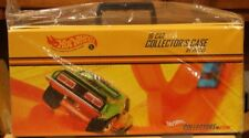 Hot Wheels HWC/RLC 16 Car Vinyl Carry Case Storage Carrying W/Shipping Box 2002