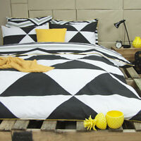 Ardor Tyrell Reversible Cotton Quilt Doona Cover Set - Single Double Queen King