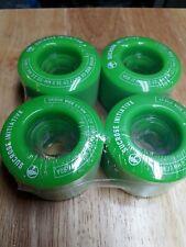 Arbor Vice 69mm 80a Green Wheels Set
