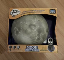 Uncle Milton Ever Wonder Moon In My Room Night Light - 12 Light Up Lunar Phases