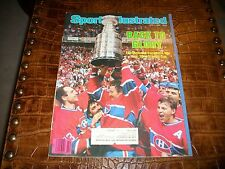 SPORTS ILLUSTRATED JUNE 2, 1986 MONTREAL CANADIENS ON COVER