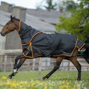 Gallop Trojan  Dual 100g Horse Turnout Rug & Detachable Neck Set  Lightweight