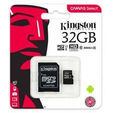 Nuevo Kingston Micro SD Tarjeta de memoria SDHC Clase 10 Tarjeta de memoria 32GB con SD Adaptador