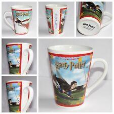 Harry Potter Quidditch Mug   (Ron & Harry Nimbus Broom & Snitch)  2001 Churchill