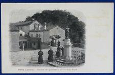 VERNA Piazzale e Chiesa degli Angeli  animata  viaggiata 1911  f/p #20845