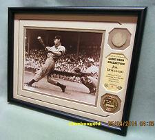 JOE DIMAGGIO, GAME USED BAT & PHOTO Display, New York Yankees, Ltd/635/COA