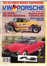 June1984 VW & Porsche ARGUS Magazine Baja Beetle Porsche 910 Karmann Ghia Jetta