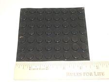 3M BUMPON SJ5312 BLACK ADHESIVE POLYURETHE RUBBER ROUND BUMPER FEET 56/SHEET