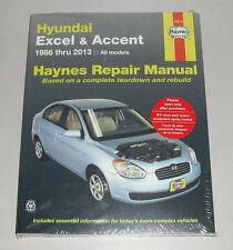 Reparaturanleitung Hyundai Accent / Pony / Excel, Baujahre 1986 - 2013