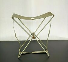 Vtg Metal Fishing Seat Chair Codaco Products Portable Collapsing Camping Hiking