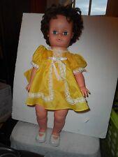 Vintage Uneeda Doll 1969 in Yellow Dress