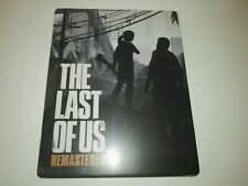 """The Last of Us Remastered Steelbook """"NEW Sealed """"PS4, No game included"""