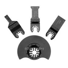 4pcs/set Oscillating Multifunction Saw Blade for Renovator Power Tools Cutting
