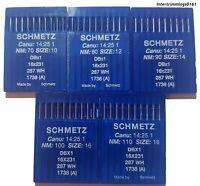 SCHMETZ INDUSTRIAL SEWING MACHINE NEEDLES, DBX1 1738 (A) 16X231, X10