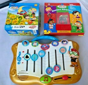 Disney Little Einsteins Symphony Composer Toy,Puzzle,Numbers Adventure Book Lot