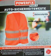 Sicherheitsweste Warnweste Weste Orange Pannen Unfall EN 471: 2003