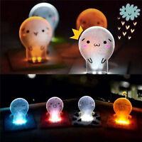 Mini Wallet Pocket Credit Card Size Portable LED Night Light Lamp Bulbs Cute