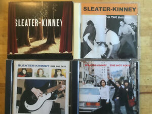 Sleater-Kinney [4 CD Alben] All the Hands Bad One + Dig Me Out + Hot Rock +Woods