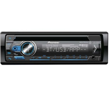 Pioneer DEHS4100BT Android iPhone USB Bluetooth AUX In-Dash Car Stereo