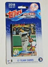 2018 Topps NY Yankees Team Set Packaged Never Opened