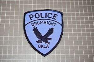 Drumright Oklahoma Police Patch (US-Pol)