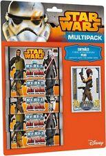 Star Wars**Rebel Attax**Multipack Topps Sammelkarten Deutsch(5 Booster)NEU&OVP