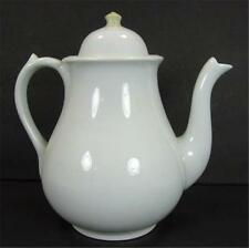 Wedgwood & Co White Ironstone 8 Cup Coffee Pot Teapot Royal Stone China