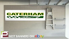 Caterham Racing Workshop / Garage Banner Super 7, Superlight 300, 400, 500