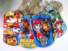 Paw Patrol  - 6 Metal Dog tags- Party Favors Loot Toys Prizes Birthday  Pinata