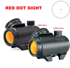 Lettering Trophy TRS-25 Red Dot Sight Rifle Scope 3MOA HD Reticle Matte Black