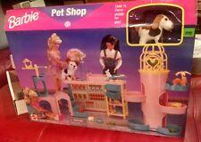 BARBIE PET SHOP SET, PINK BOX, MATTEL, 1996, MIB Great Vintage Set RW9