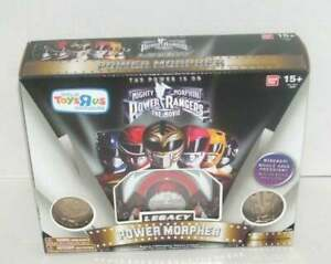 NEW 2014 Mighty Morphin Power Rangers The Movie Legacy Power Morpher White Editi