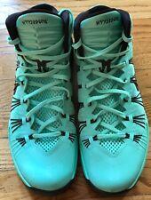 Nike Lunarlon Hyperdunk Zoom Sneakers Basketball Shoes Turquoise Size 12.5