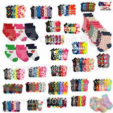 Wholesale Toddler Girl Kid Children Sock Ankle Mixed Assorted Designs Infant Lot