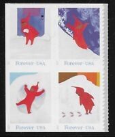 US Scott #5243-46, Block of 4 2017 Snowy Day VF MNH