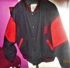 I.O.U Across America Wool & Red Suede Varsity Jacket **REDUCED**