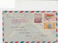 bolivia stamps cover ref 20770