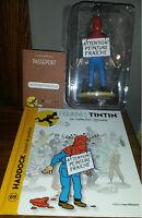 Figurine Tintin edition Moulinsart n°69 Haddock peinture sous blister NEUF
