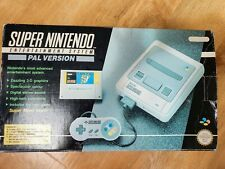 Super Nintendo Entertainment System, Box, Console, Controllers, One Game,...