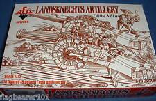Redbox 72064 landsknechts artillería. escala 1/72 de plástico sin pintar.