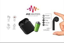 New listing Jive Mini Pods Wireless Bluetooth Earbuds Apple Android