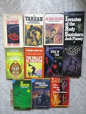 Vintage Lot of 11 SciFi Fantasy Paperback Books Ace Double Signet Pocket