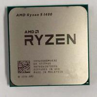 AMD Ryzen 5 1400 R5 1400 3.2 GHz Quad-Core CPU Processor YD1400BBM4KAE Socket AM