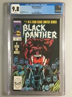 Black Panther 1 - CGC 9.8 - Limited Series 1988 - White Pages